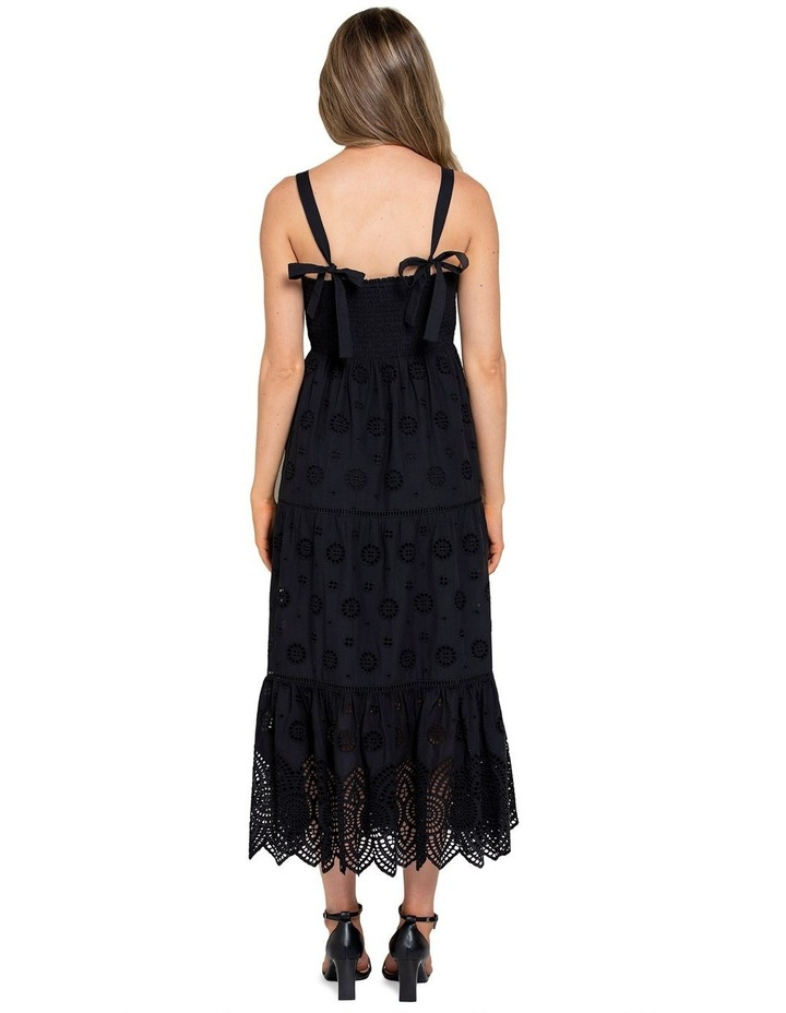 Loretta Shirred Midi Dress image 3