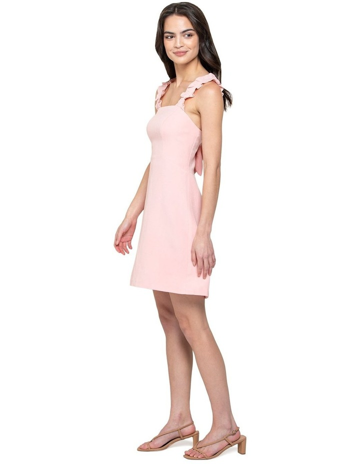 Demi Linen Frill Mini Dress image 2