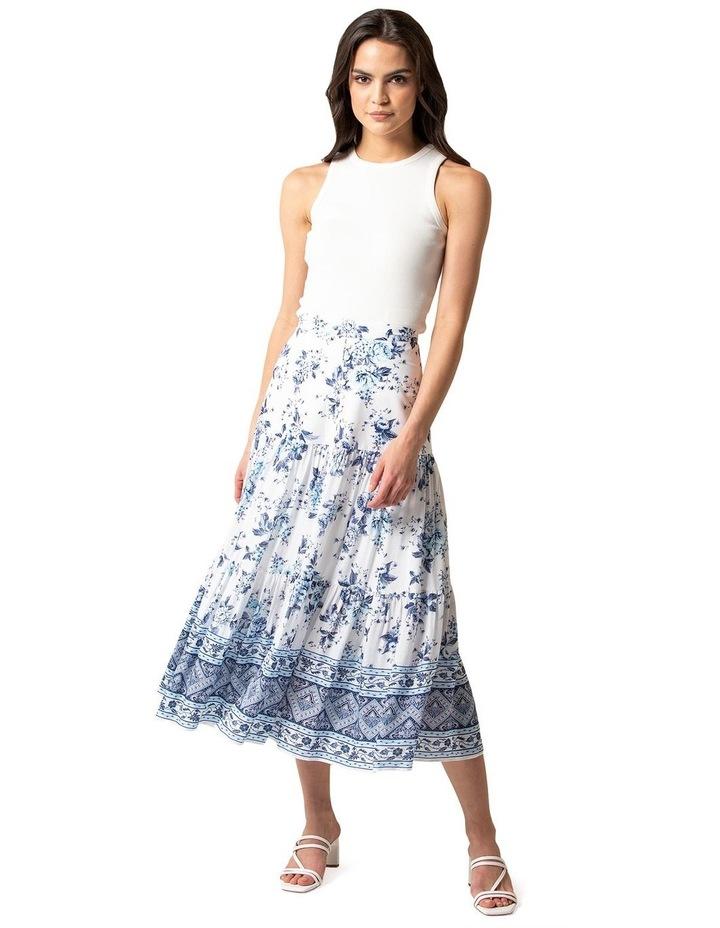 Lilliana Petite Tiered Maxi Skirt image 1