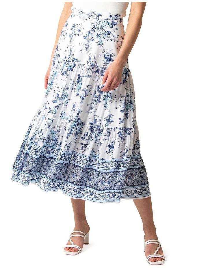 Lilliana Petite Tiered Maxi Skirt image 2