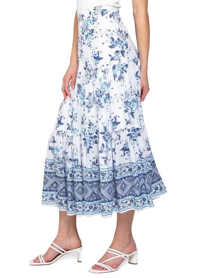 Lilliana Petite Tiered Maxi Skirt image 3
