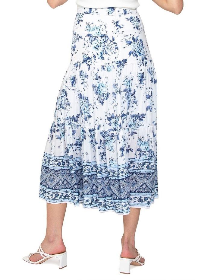 Lilliana Petite Tiered Maxi Skirt image 4