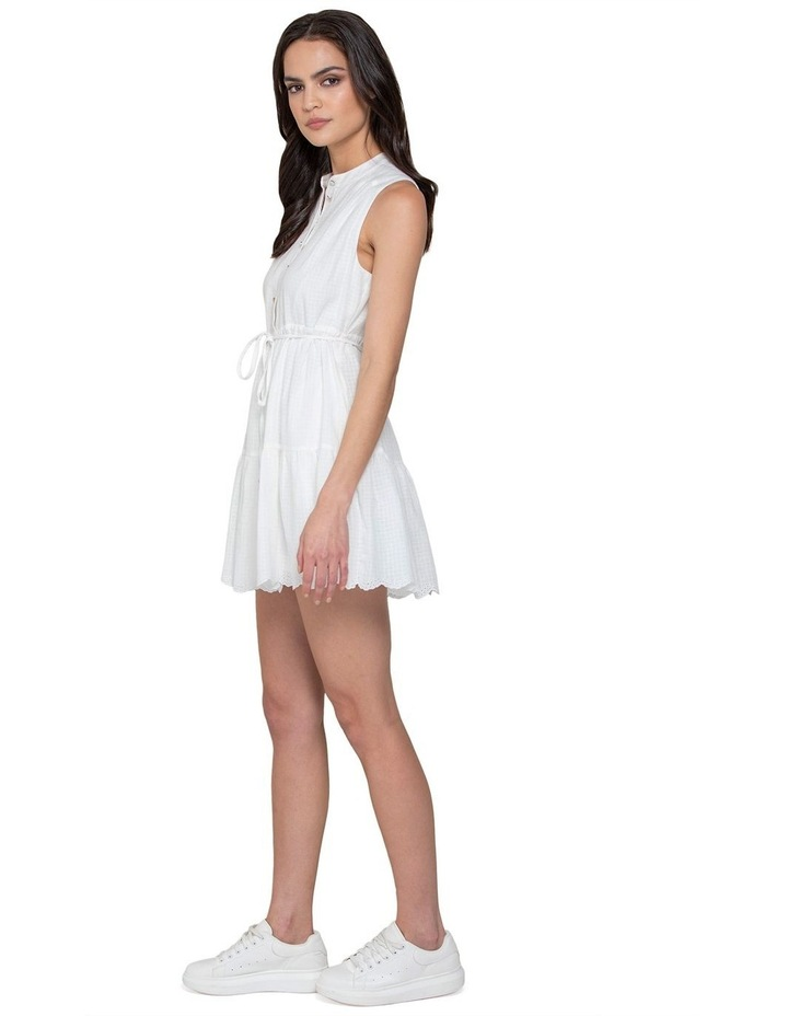 Alex Petite Textured Smock Dress image 2