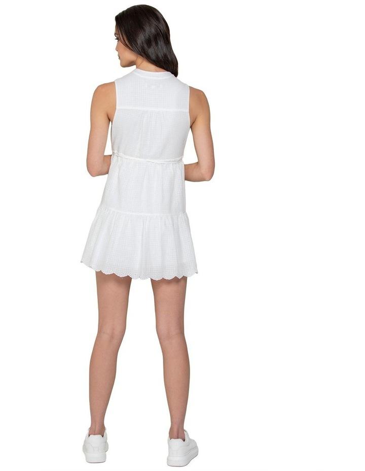 Alex Petite Textured Smock Dress image 3