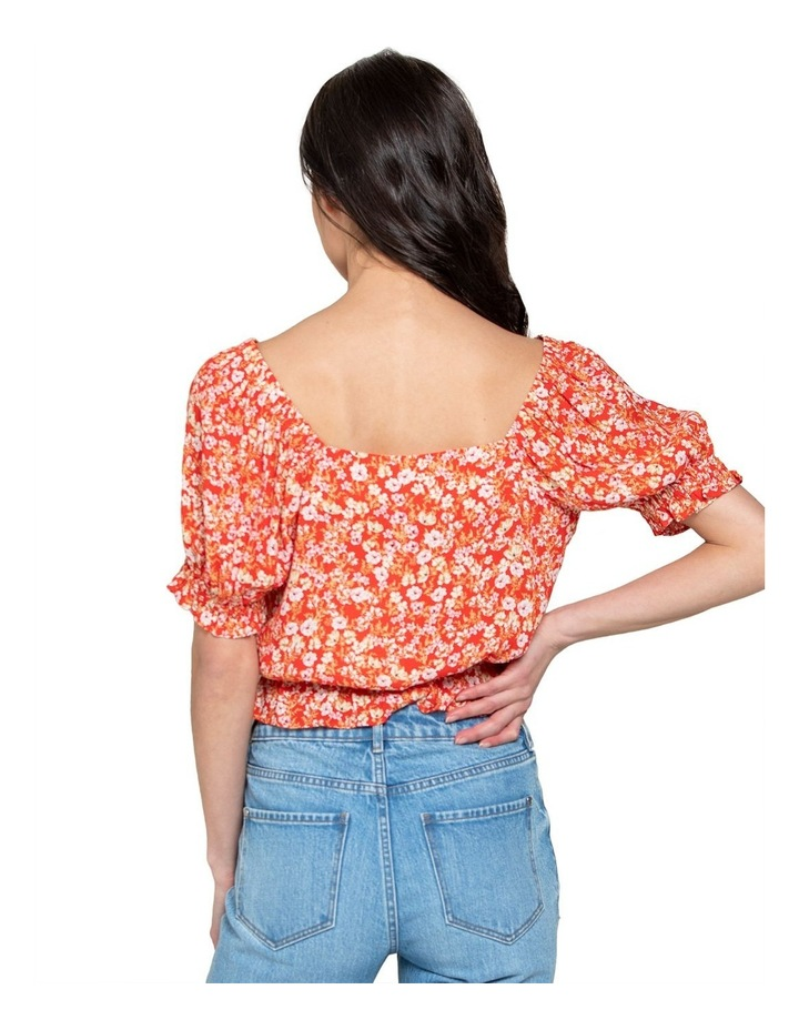 Giselle Puff Sleeve Crop Co-ord image 3