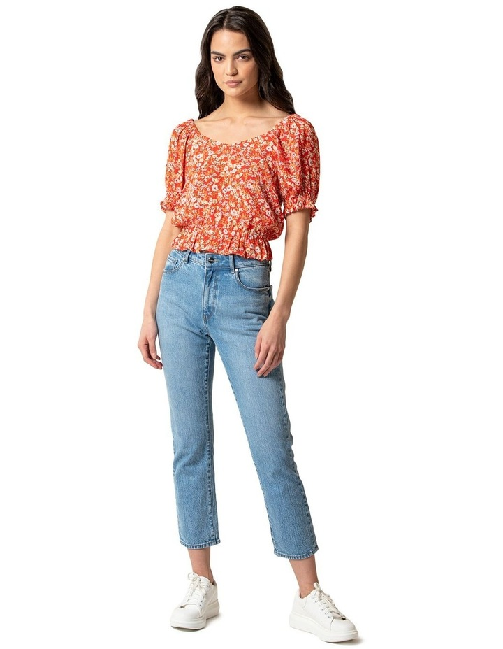 Giselle Puff Sleeve Crop Co-ord image 4