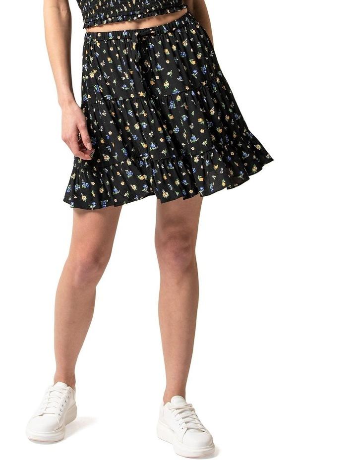 Lulu Tiered Mini Skirt image 1
