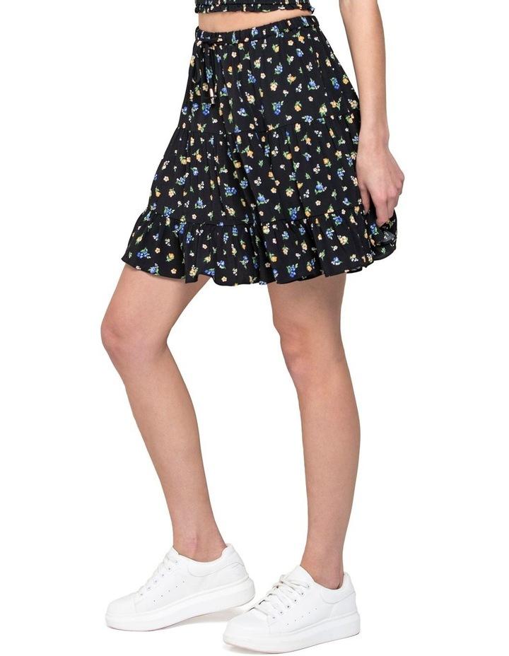 Lulu Tiered Mini Skirt image 2