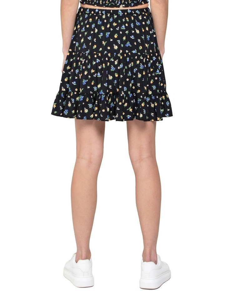 Lulu Tiered Mini Skirt image 3