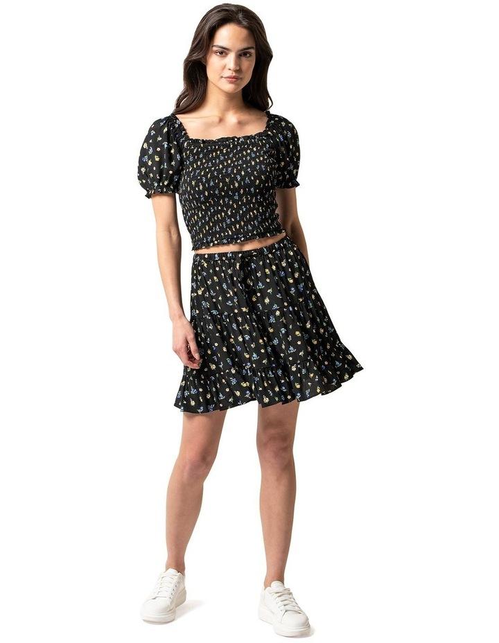 Lulu Tiered Mini Skirt image 4
