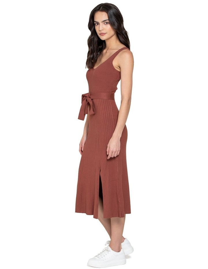 Colette Fit and Flare Midi Knit Dress image 2