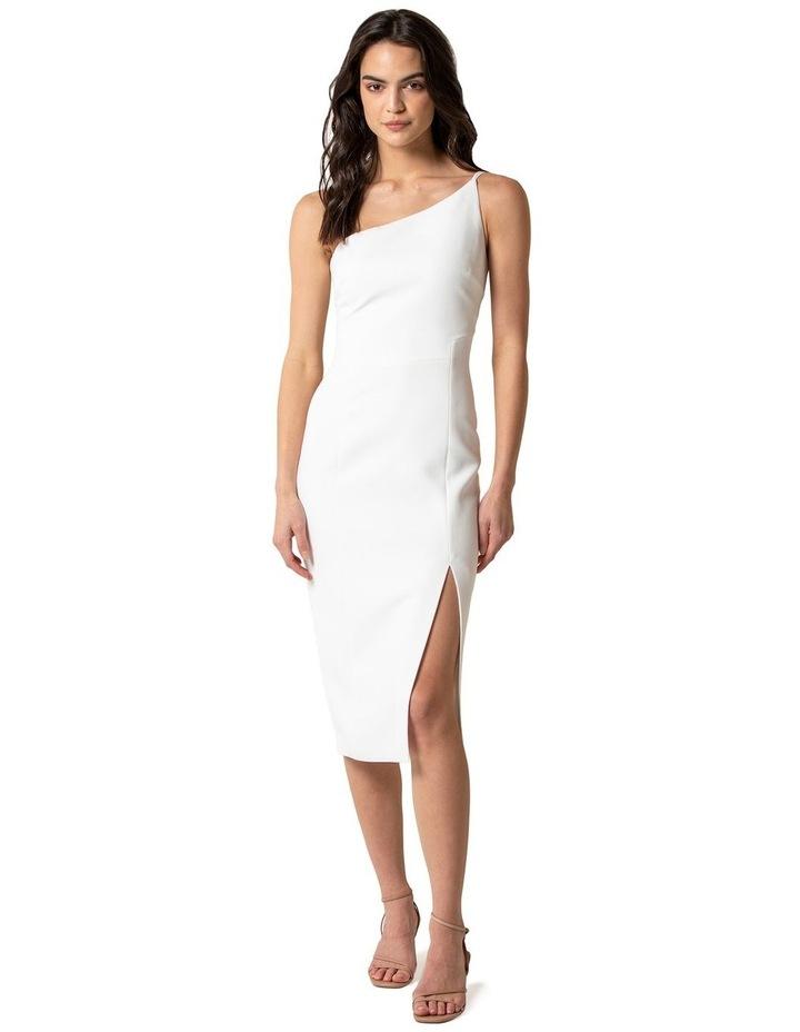 Franca One Shoulder Midi Dress image 1