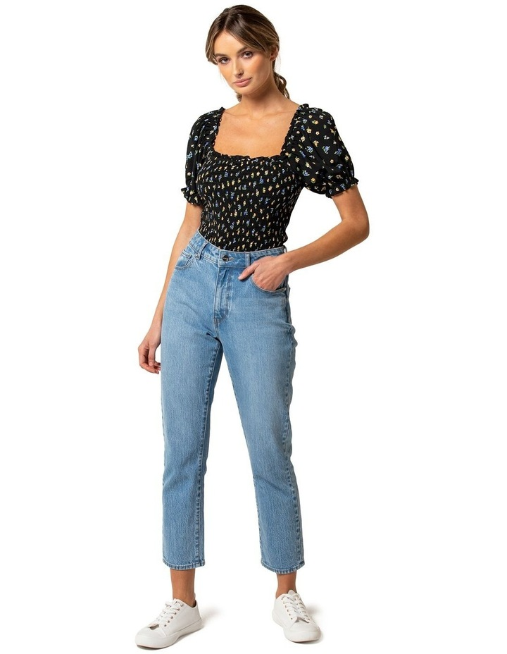 Hayley Puff Shirred Co-ord Top image 4