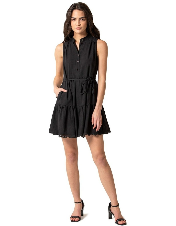 Alex Textured Smock Dress image 1
