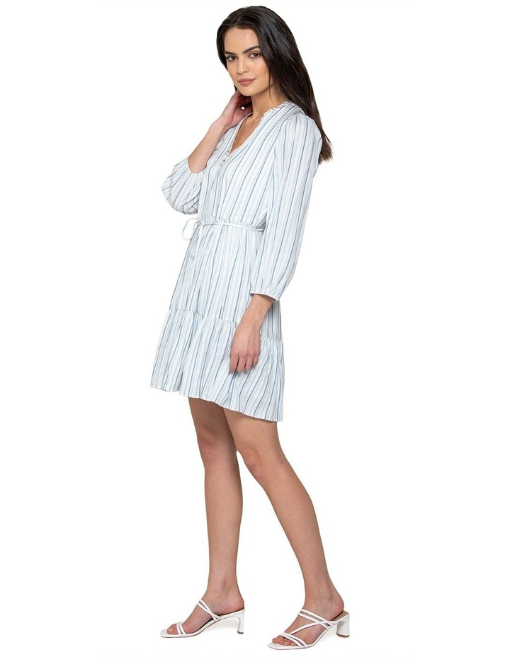 Yasmin Stripe Smock Dress image 2