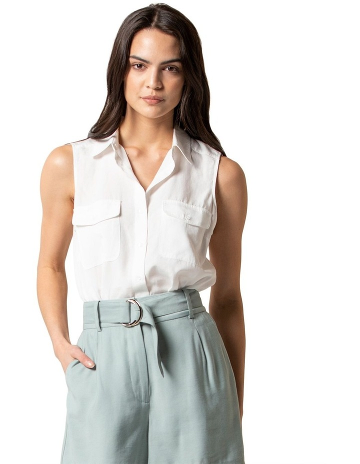 Julia Sleeveless Shirt image 1