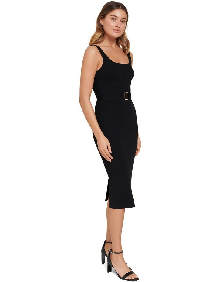 Gabriella Square Neck Midi Knit Dress image 2