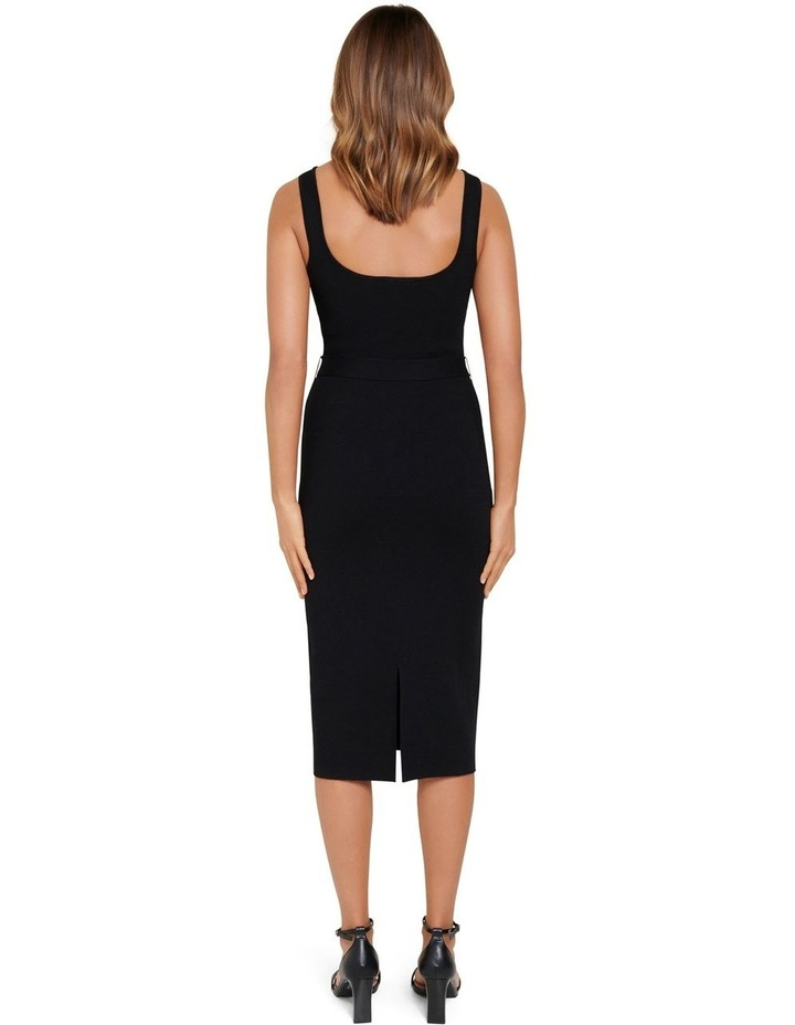 Gabriella Square Neck Midi Knit Dress image 3