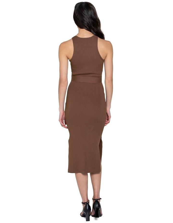 Ivy Racer Column Midi Knit Dress image 3