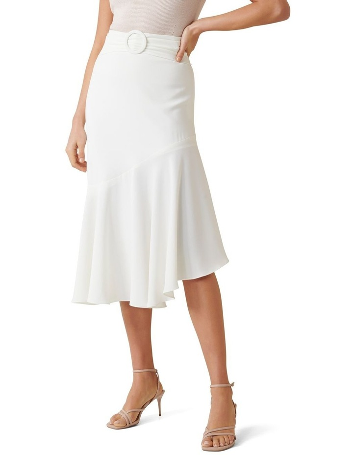 Anna Asym Belted Midi Skirt image 1