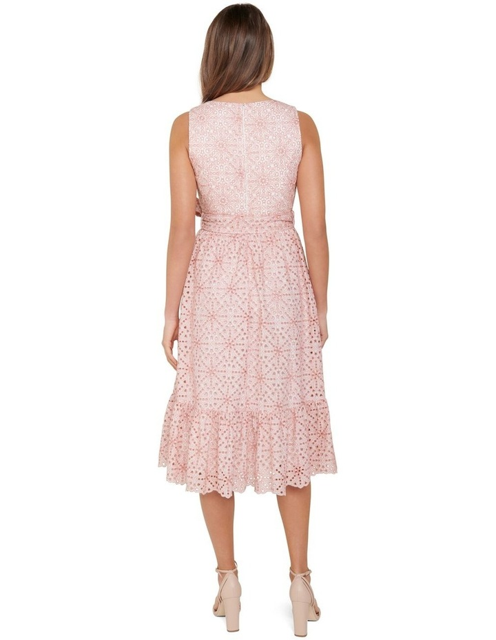 Polly Broderie Midi Dress image 3
