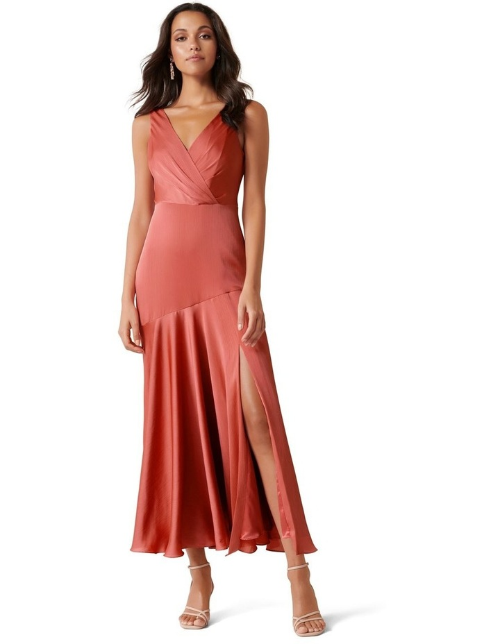 Marcella Satin Maxi Dress image 1