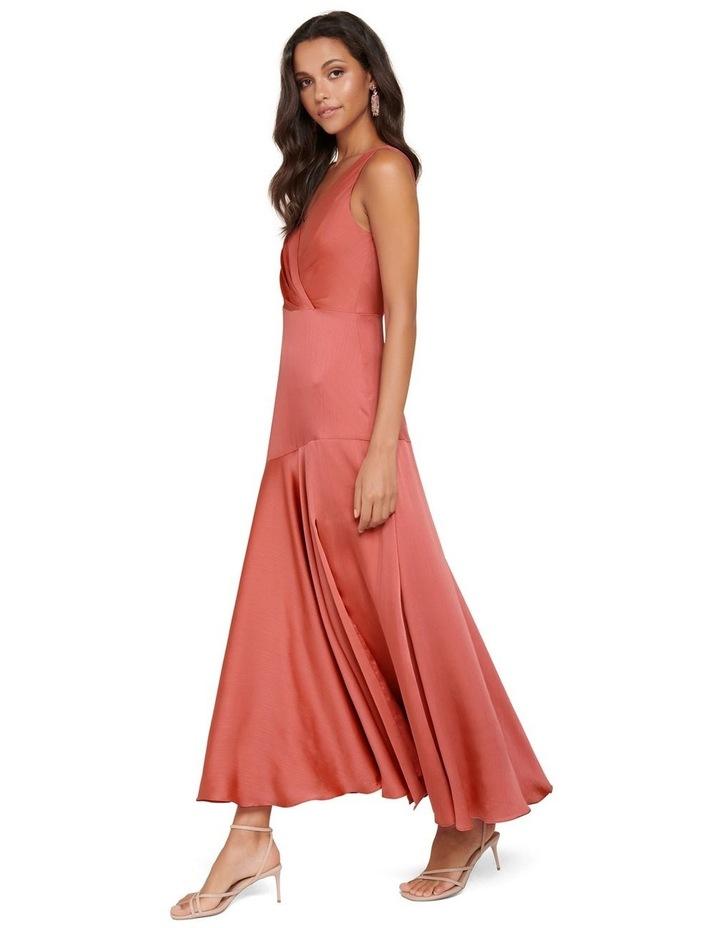 Marcella Satin Maxi Dress image 2