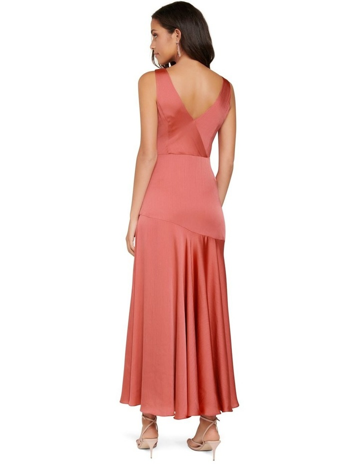 Marcella Satin Maxi Dress image 3
