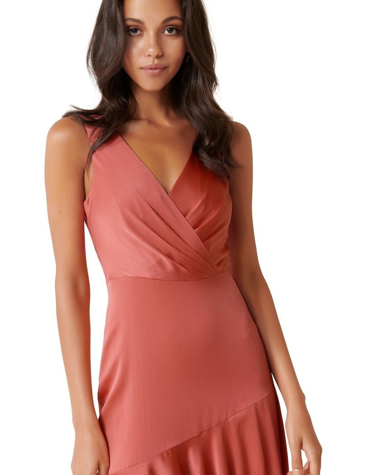 Marcella Satin Maxi Dress image 4