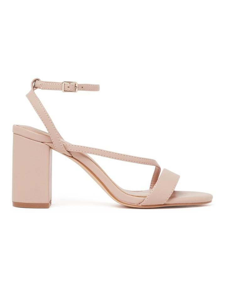 Nelly Asymmetric Mid Block Heels image 1