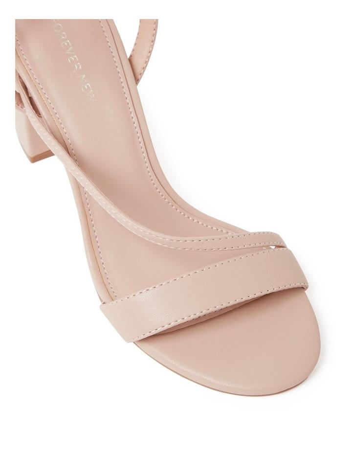 Nelly Asymmetric Mid Block Heels image 2