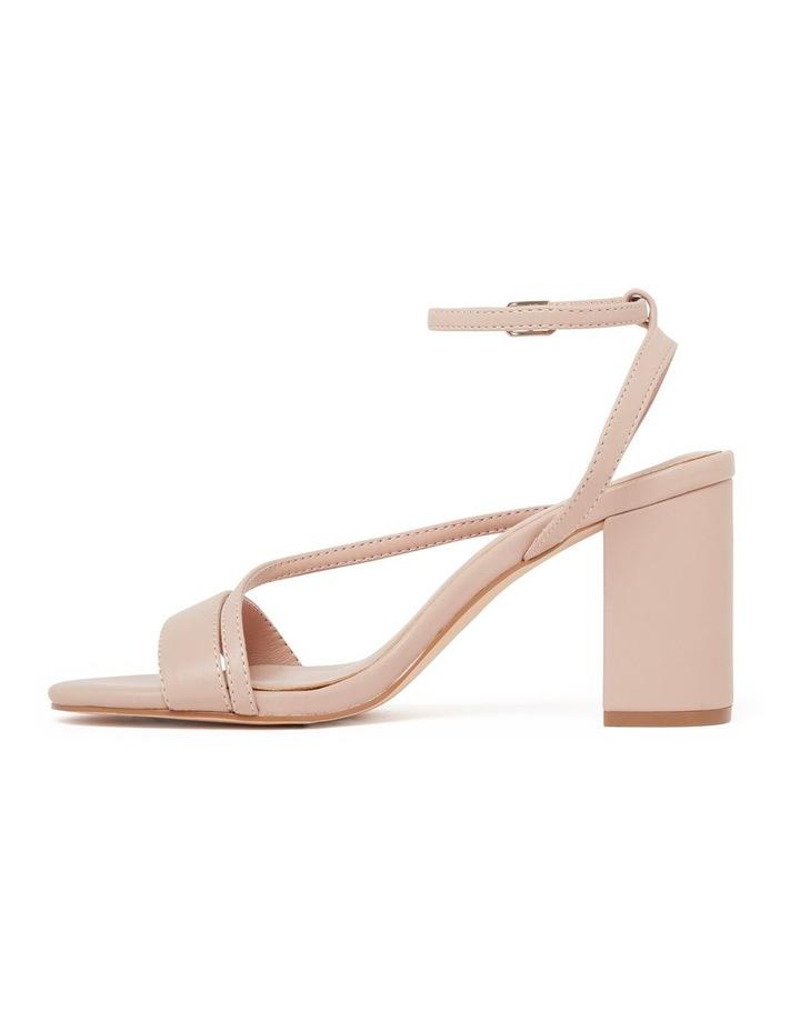 Nelly Asymmetric Mid Block Heels image 3