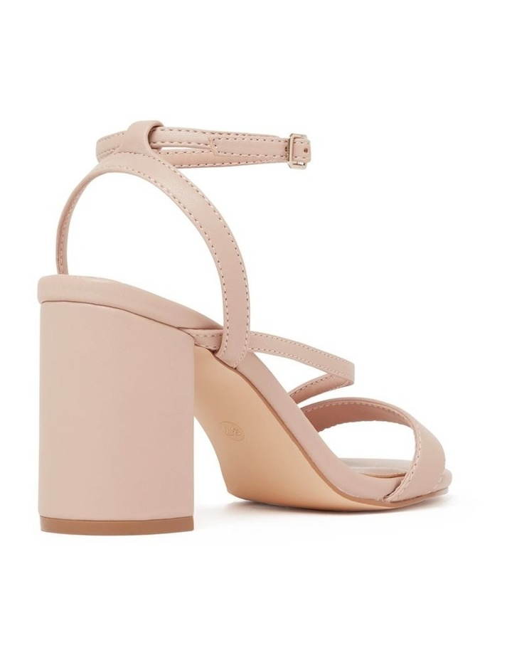 Nelly Asymmetric Mid Block Heels image 4
