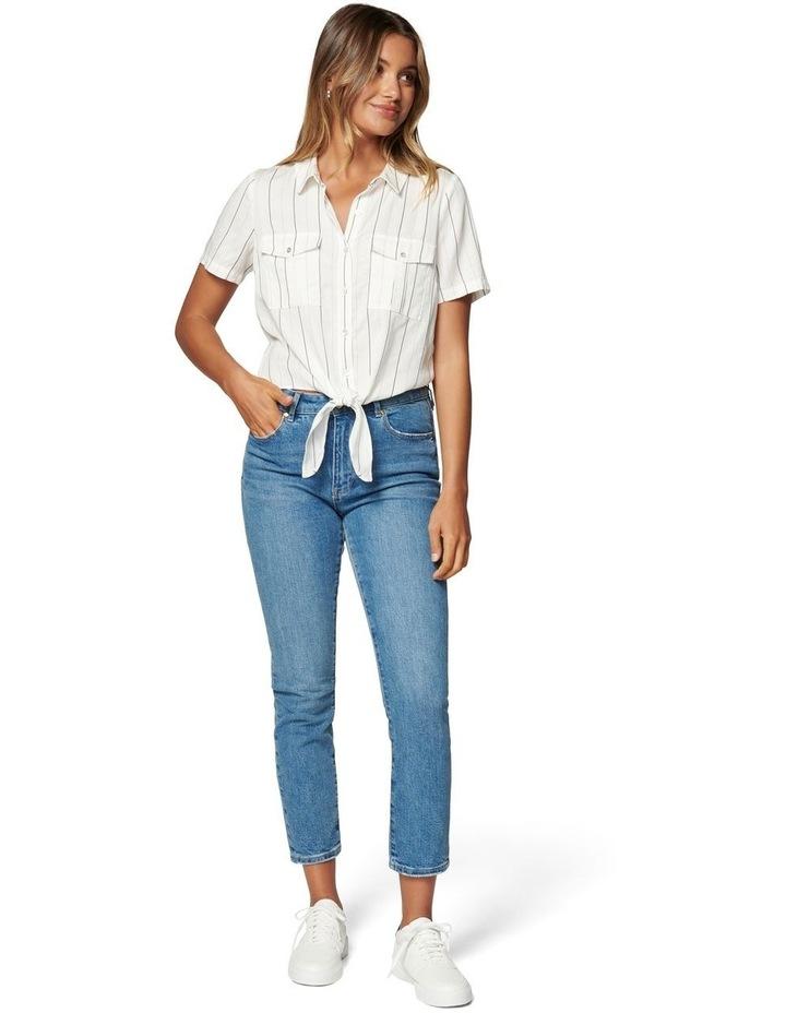 Eden Knot Front Stripe Shirt image 4