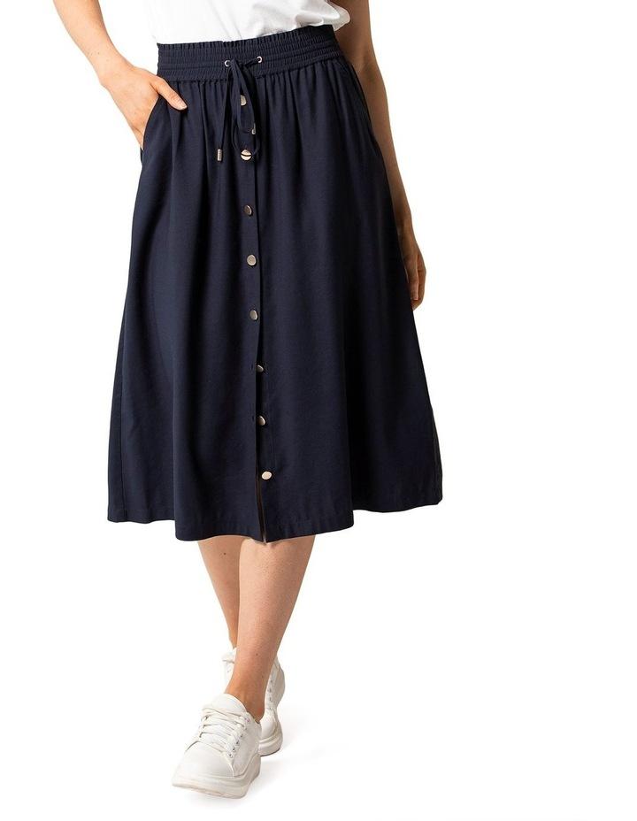 Cora Elasticated Midi Skirt image 1