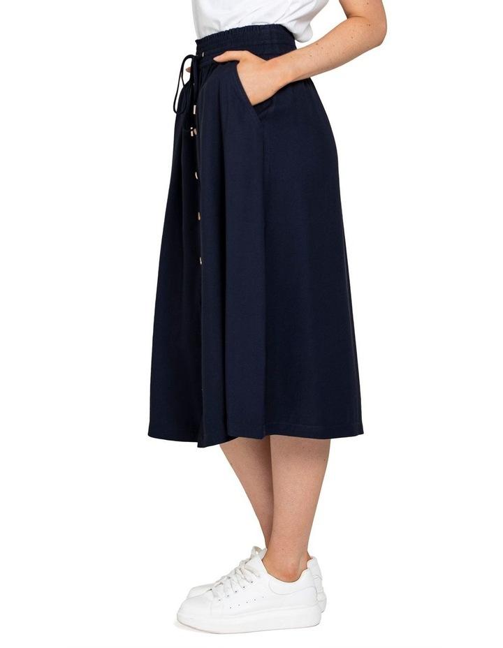 Cora Elasticated Midi Skirt image 2