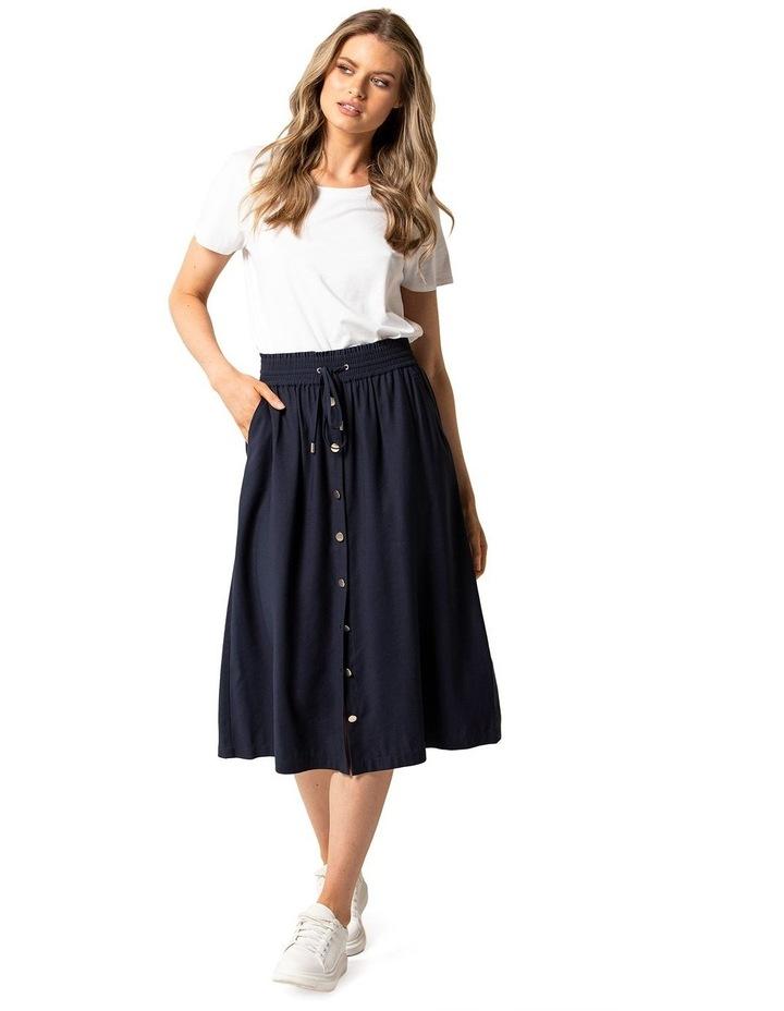Cora Elasticated Midi Skirt image 4