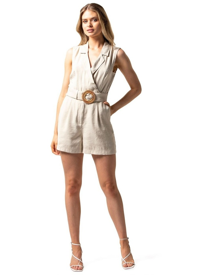 Polly Wrap Belted Playsuit image 1