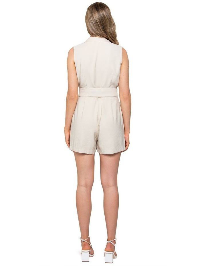 Polly Wrap Belted Playsuit image 3
