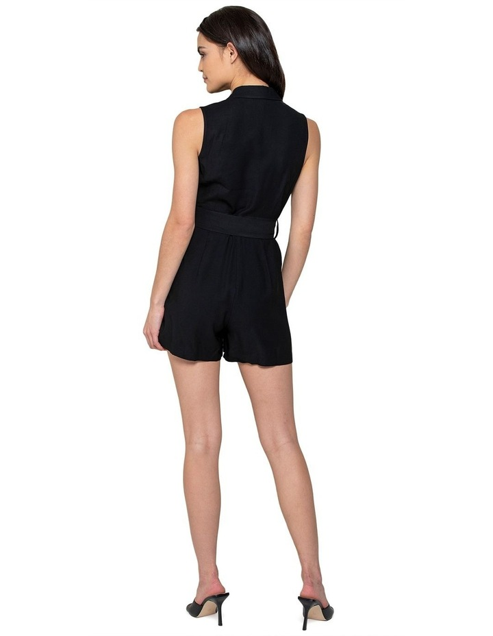 Polly Wrap Belted Playsuit image 2