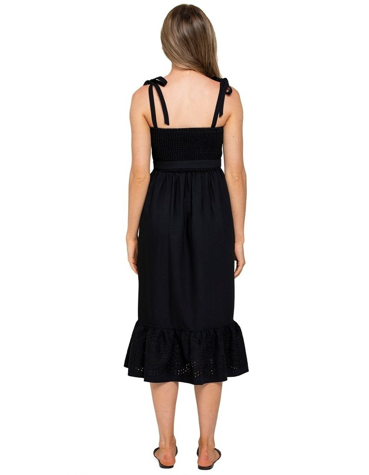 Carina Embroidered Midi Dress image 3