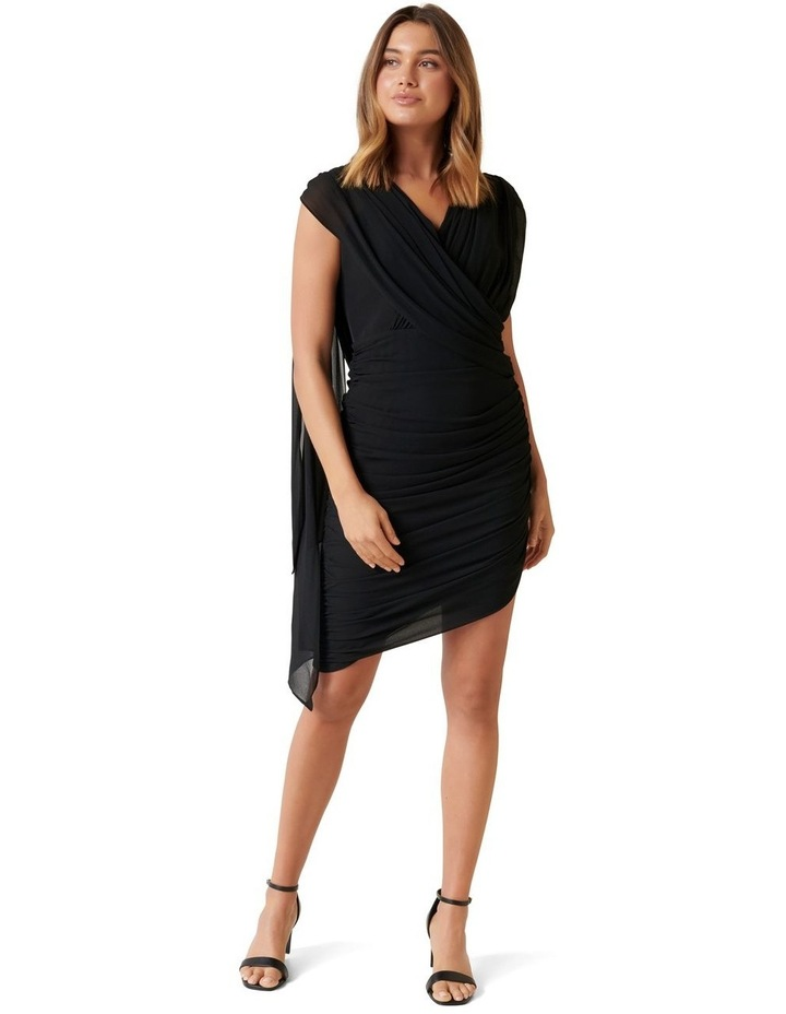 Miriam Ruched Drape Dress image 1
