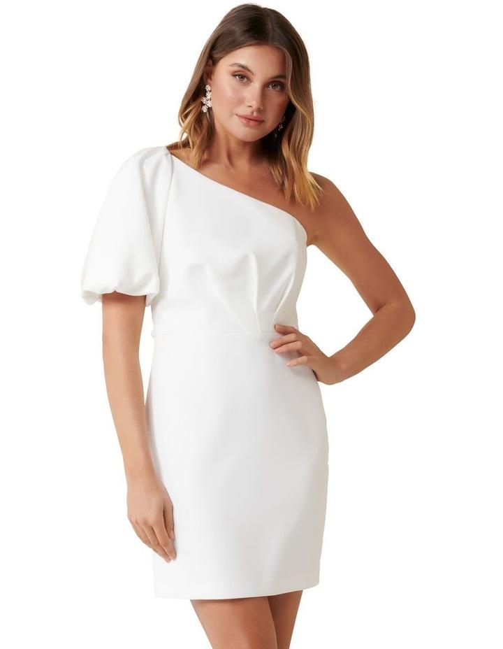 Maple One Shoulder Mini Dress image 1