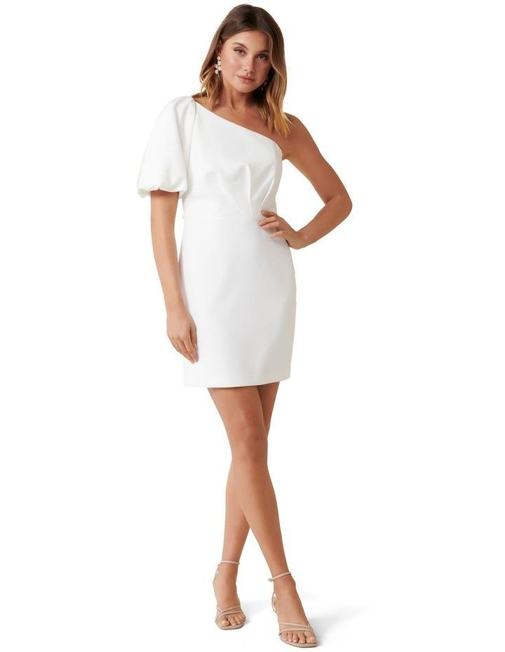 Maple One Shoulder Mini Dress image 3