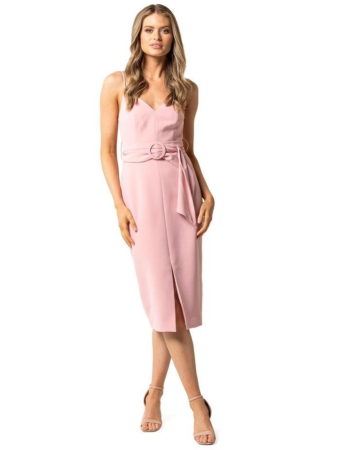 Genevieve Belted Midi Dress image 1