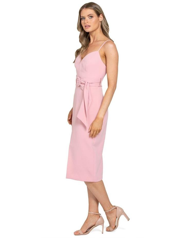 Genevieve Belted Midi Dress image 2