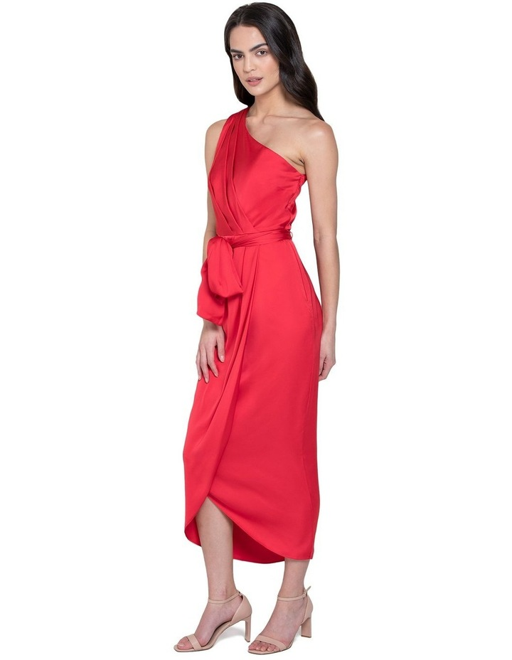 Chloe One Shoulder Midi Dress image 2