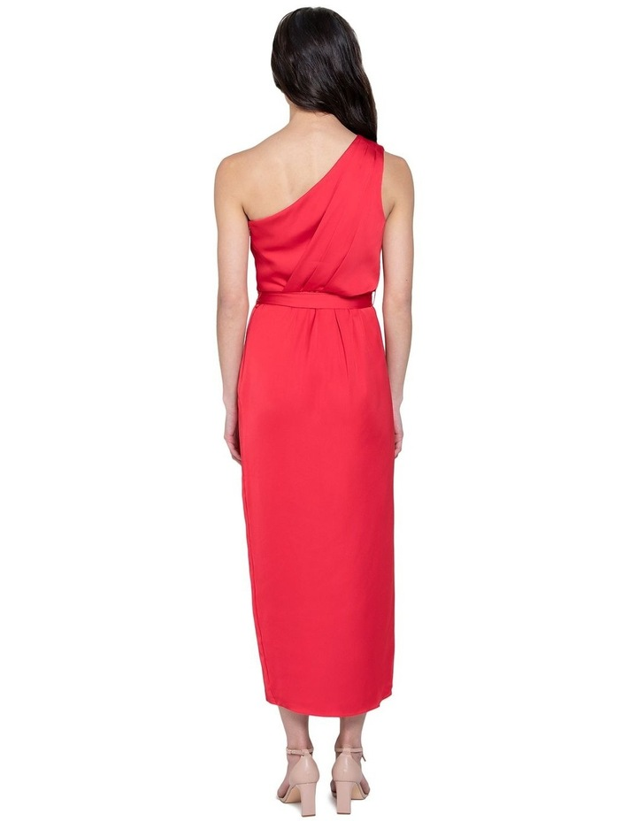 Chloe One Shoulder Midi Dress image 3