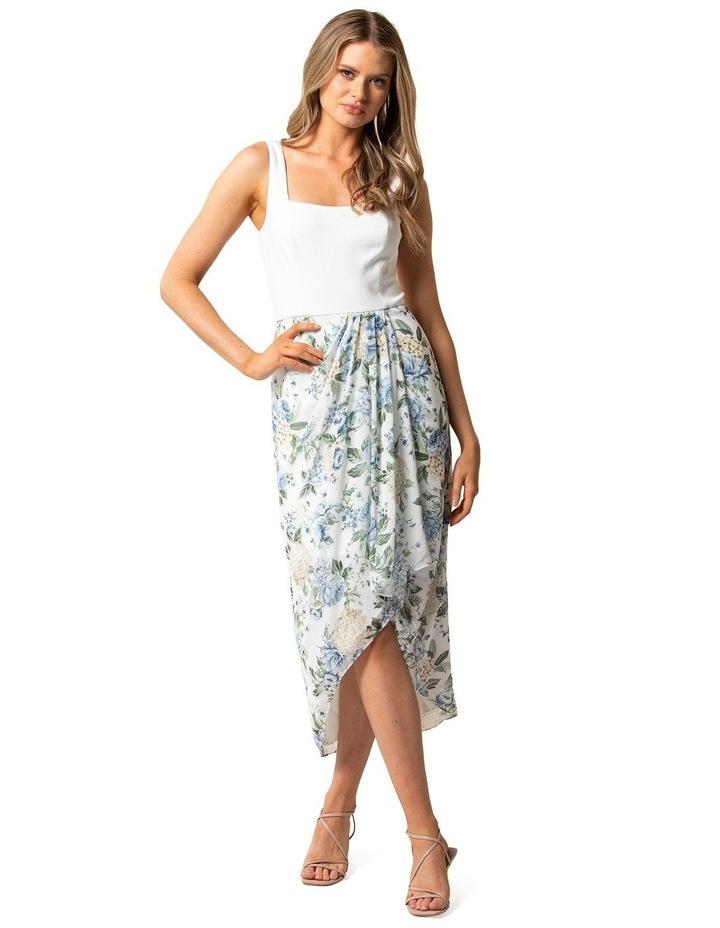 Lottie Square Neck 2 In 1 Midi Dress image 1