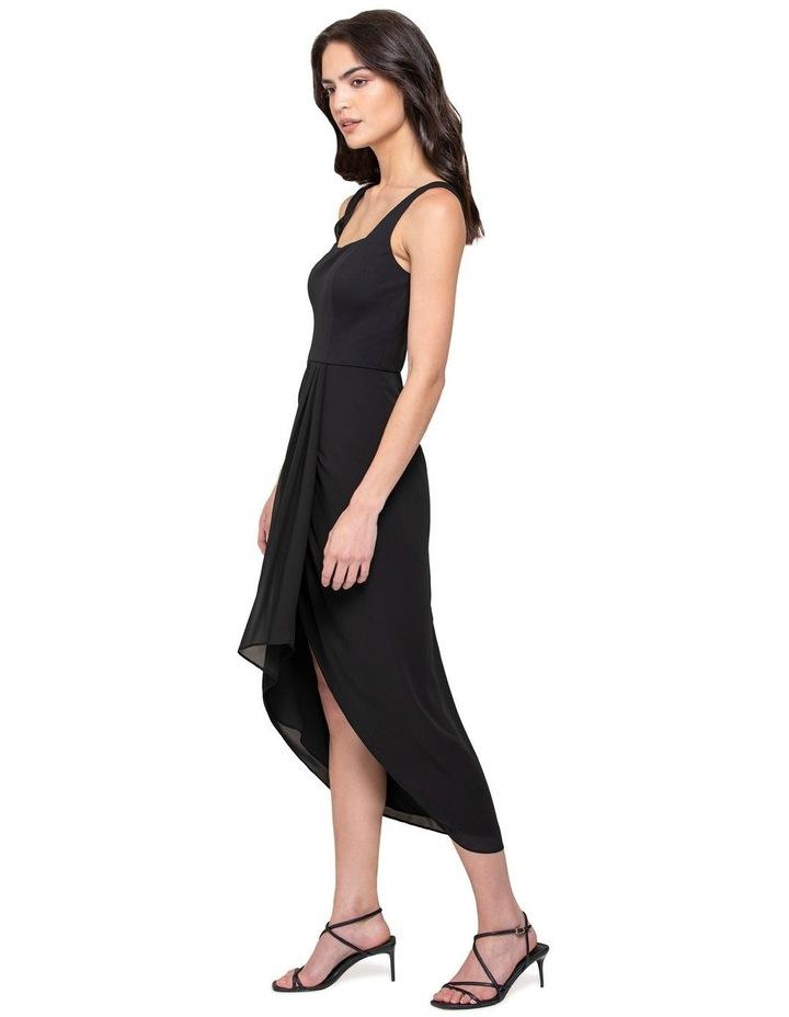 Lottie Square Neck 2 In 1 Midi Dress image 2